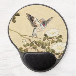 Matsumoto Keibun Bird and Flower Album Zebra Finch Gel Mouse Pad