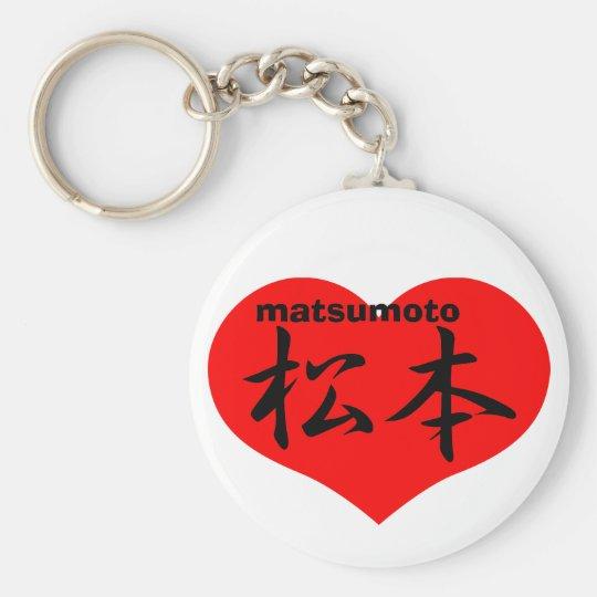 matsumoto keychain
