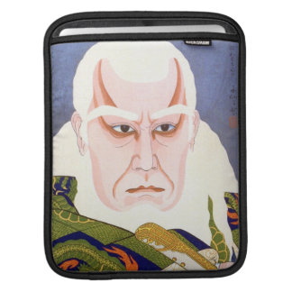 Matsumoto Koshiro as Ikyu Shunsen Natori art Sleeve For iPads
