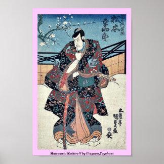 Matsumoto Koshiro V by Utagawa,Toyokuni Print