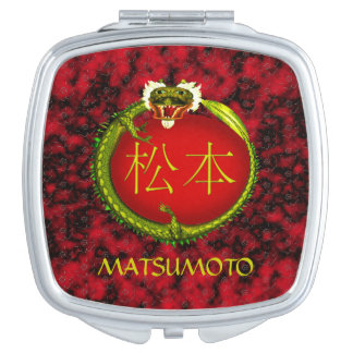 Matsumoto Monogram Dragon Vanity Mirror