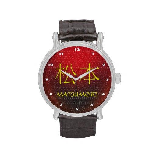 Matsumoto Monogram Wristwatch