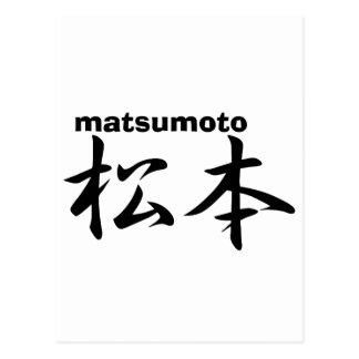 Matsumoto Tarjetas Postales