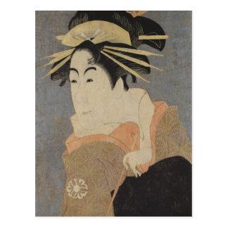 Matsumoto Yonesaburo in the role Postcard
