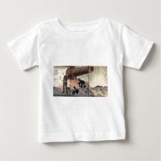 Matsushima Gun firing c. 1894. Japan. T-shirts