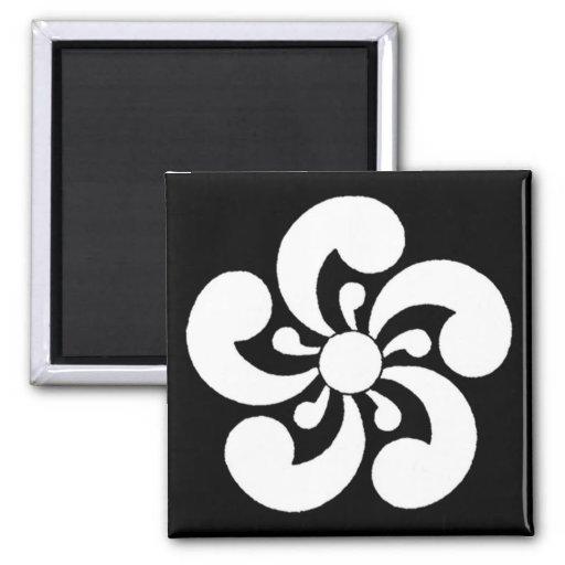 Matsuya Japanese Heraldic Crest Refrigerator Magnet