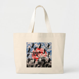 Matsuyama castle and flower and cat tote bags