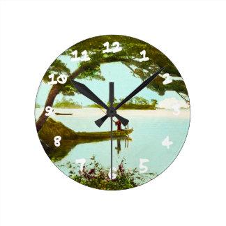 Matsuyama Ehime Japan Vintage 松山市 Round Clock