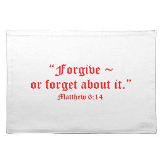 Matt 6:14 placemat