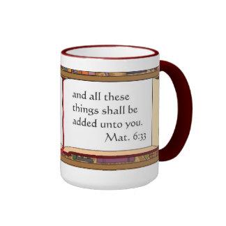Matt.6: Taza de café marrón 33