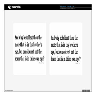 Matt. 7:3,w decals for kindle fire