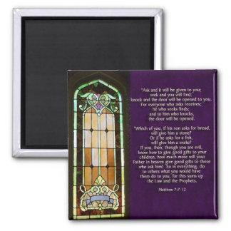 Matt 7:7-12 magnet