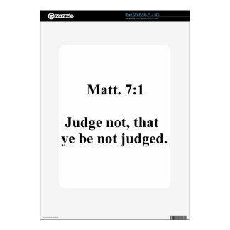 Matt 7 iPad decals