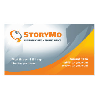 Matt Billings Standard Double-Sided Standard Business Cards (Pack Of 100)
