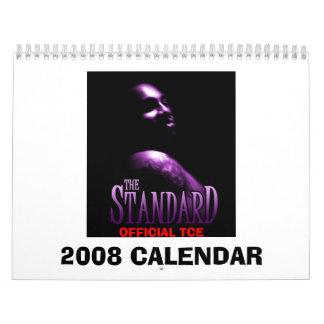 Matt Cage 2008 Calendar