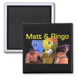 Matt e imán de Ringo