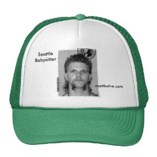 Matt Kolve Seattle Babysitter Trucker Hat
