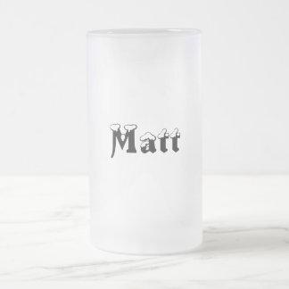 Matt-Name Style-Frosted Mug