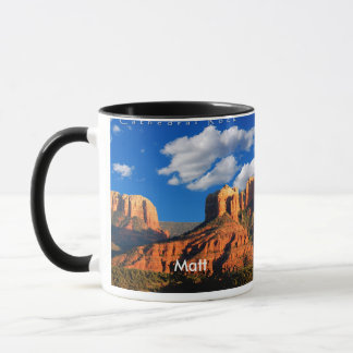 Matt on Cathedral Rock and Courthouse Mug