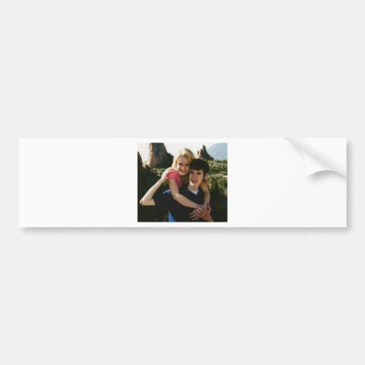 Matt&Suze Bumper Sticker