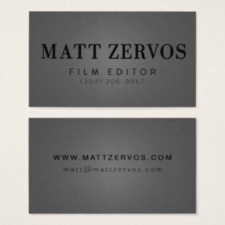 Matt Zervos Business Card
