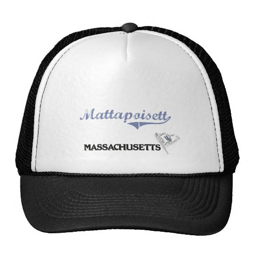 Mattapoisett Massachusetts City Classic Trucker Hat