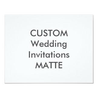 "MATTE 120lb 5.5"" x 4.25"" Wedding Invitations"