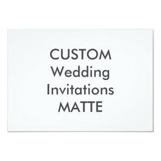 "MATTE 120lb 5"" x 3.5"" Wedding Invitations"