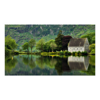 Matte Canvas OF St. Finbarrs Oratory Poster