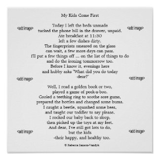 Mattee Print Photos of your Children with Poem