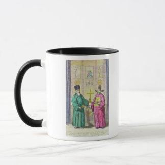 Matteo Ricci  and another Christian Mug