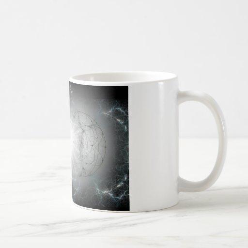 matter - antimatter collision classic white coffee mug