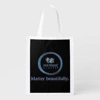 Matter beautifully. Reusuable Bag Reusable Grocery Bag