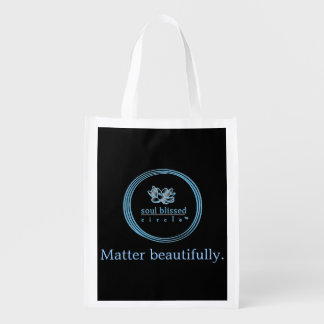 Matter beautifully. Reusuable Bag Market Totes