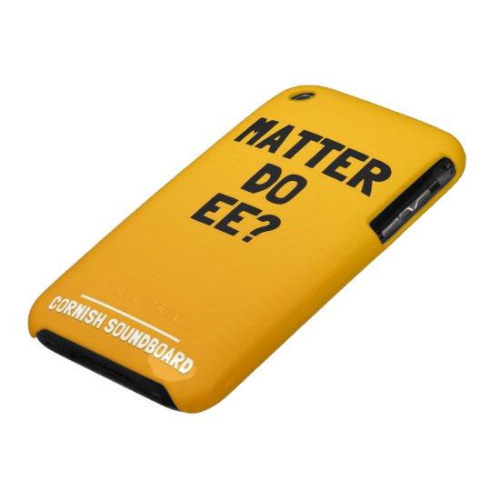 Matter Do Ee? A Cornish Soundboard iPhone Case