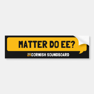 Matter Do Ee? A Cornish Soundboard Sticker