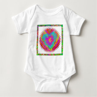 MATTER of HEART  -  Artistic Expression Baby Bodysuit