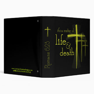 Matter of Life & Death Christian school binder