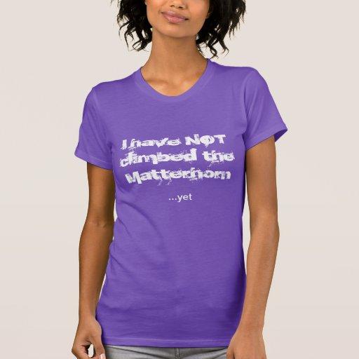 Matterhorn 1 tshirt