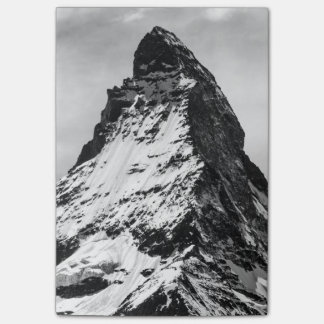 Matterhorn, Alps black and white Post-it Notes