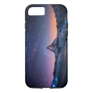 Matterhorn and Milky Way Galaxy iPhone 7 Case