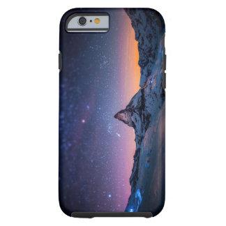 Matterhorn and Milky Way Galaxy Tough iPhone 6 Case