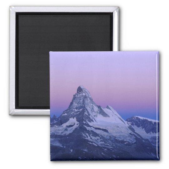 Matterhorn at dawn, Zermatt, Swiss Alps, Magnet