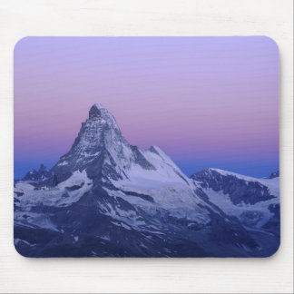 Matterhorn at dawn, Zermatt, Swiss Alps, Mouse Pad