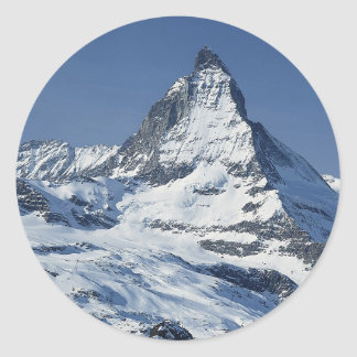 Matterhorn Classic Round Sticker