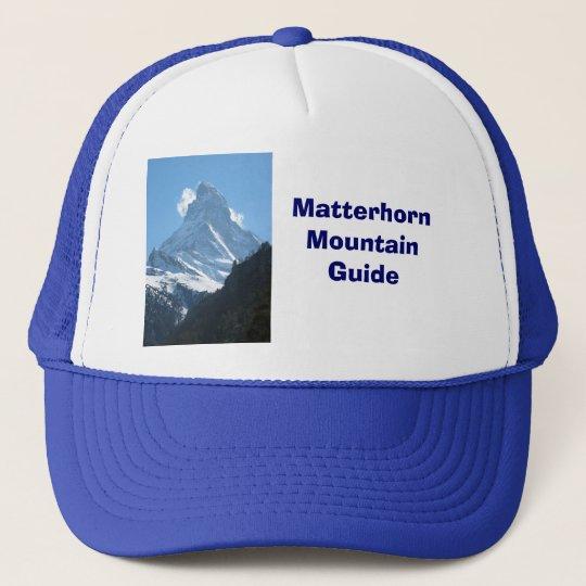 Matterhorn, Highest Swiss mountain Trucker Hat