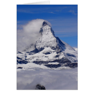 Matterhorn in Switzerland Card