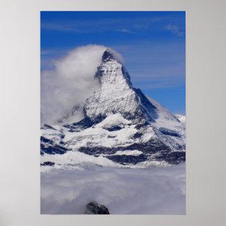Matterhorn in Switzerland Posters