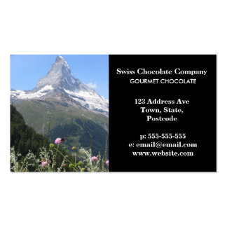 Matterhorn Mountain photo Double-Sided Standard Business Cards (Pack Of 100)
