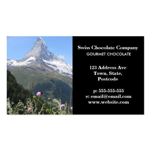 Matterhorn Mountain photo Business Cards